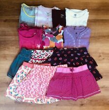 Large Lot Of Girls Summer Clothes Size 6-7, Tea Collection, Gymboree and more
