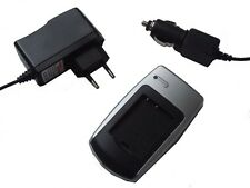 CHARGEUR Adaptateur VOITURE de batterie pour PANASONIC LUMIX DMC-TZ1 DMC-TZ2