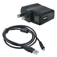 USB AC/DC Power Adapter Camera Battery Charger + PC Cord For Nikon Coolpix S4100