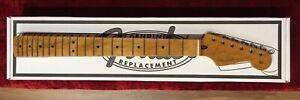 "Fender 1-Piece Roasted Maple Strat Stratocaster Neck, 'C' Profile, 9.5"" Radius"