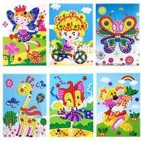 Baby Kids Developmental 3D Crystal Mosaics Art Sticker Mosaic Craft Kit Toy Gift