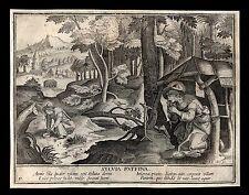 santino incisione 1600* S.SILVIA RUFFINA   le clerc