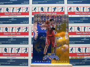 2012-13 Panini Crusade Insert Bleu #142 Yao Ming