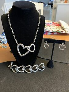 Brighton Heart Neclace Set