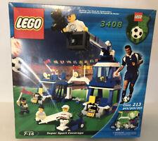 Lego Set 3408 Super Sport Coverage Lego Set New in Box Sealed Soccer