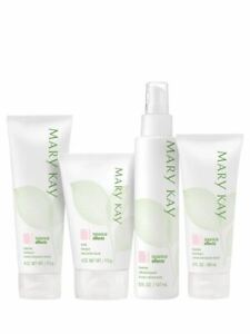 Mary Kay Botanical Effects Formula 1 FULL SET Freshen Cleanse Hydrate & Mask NIB
