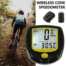 MTB Bicycle Bike Speedometer Waterproof Wireless Meter Computer Odometer