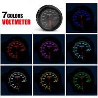 12V GM modified voltmeter 2 inch (52mm) voltmeter
