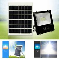 NEW 10W Outdoor Yard Lawn Waterproof Solar Panel Powered LED Spot Light Lamp
