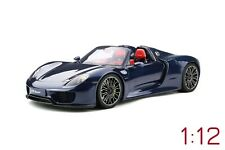 GT Spirit Porsche 918 Spyder 1:12 dark blue metallic