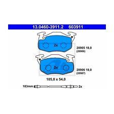 ATE 13.0460-3911.2 Bremsbelagsatz, Scheibenbremse  Links für Peugeot 205 II