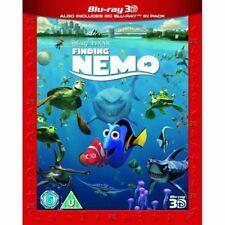 Finding Nemo 3d Blu-ray 2003 Disney Pixar Family Movie
