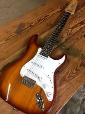 GREAT PLAYING NEW 12 STRING STRAT style SUNBURST ELECTRIC GUITAR