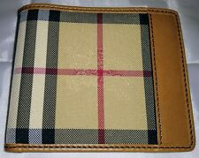 Burberry Horseferry Check ID Wallet men's