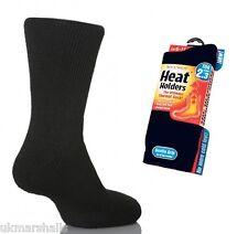 6 x Sock Shop Official Thermal Heat Holder Winter Socks Black Sz 6-11 - 2.3 Tog