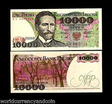 POLAND 10000 10,000 ZLOTYCH P151 1988 LOT BUNDLE UNC RARE ORIGINAL PACK 100 NOTE