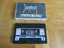 DEATHRASH Faces Of Death RARE original 1986 DEMO Cassette Tape thrash metal
