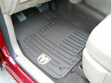 Dodge Ram 2012 1500 2500 3500 4500 5500 Front rubber floor slush mats Mopar OEM
