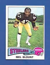 1975 Topps #12 Mel Blount RC HOF Pittsburgh Steelers NM/MT Additional ship free