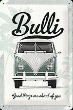 VW CAMPER VAN Metal Signs VW BULLI  Vintage Retro Tin Signs METAL POSTCARD