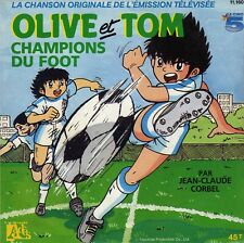 TV OST OLIVE ET TOM CHAMPIONS DU FOOT / INST JEAN-CLAUDE CORBEL FRENCH 45 SINGLE