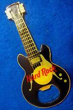 ONLINE NO LOCATION BLACK ACOUSTIC MAGNETIC BOTTLE OPENER GUITAR Hard Rock Cafe