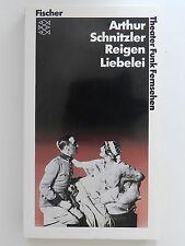 Arthur Schnitzler Reigen Liebelei Fischer Verlag