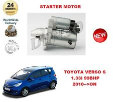 FOR TOYOTA VERSO S 1.33 99BHP 2010-->ON DENSO ORIGINAL STARTER MOTOR OE