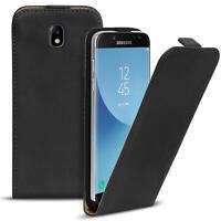 Flip Cover Case Samsung Galaxy J3 2017 Schutzhülle Handy Schutz Hülle Tasche