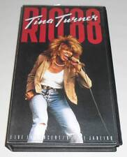TINA TURNER - RIO '88 - 1988 UK VHS VIDEO PAL