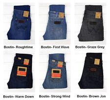NUOVO WRANGLER BOSTIN Jeans Slim Gamba Dritta Lee Daren PER L30/L32/L34