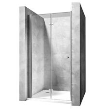 PORTE DE DOUCHE MY SPACE PORTE PLIANTE 70CM - 100CM VERRE 6MM  EASY CLEAN REA