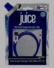 Jugo Micro USB Cable Para Samsung Galaxy,, Sony, Htc, Huawei 1.5m Azul