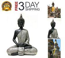 8 inches Tall Thai Buddha Statue Meditating Peace Harmony Happyness Statue