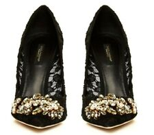 BRAND NEW IN BOX DOLCE & GABBANA LACE PUMPS sz 40.5