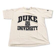 Vintage Duke University Blue Devils T-Shirt Men's sz L Basketball Athletic Team