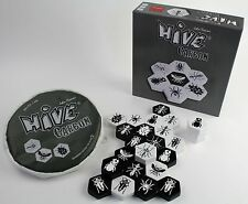 Hive Carbon Tile Board Game Black and White Version TCI 008