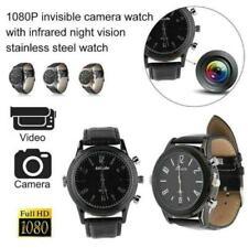 32GB 1080P HD IR Infrared Night Vision DVR Hidden Spy Mini Camera Watch NEW