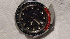 1969 Mens SS Bulova Snorkel watch 666ft diver cal 11blacd (runs, needs service)