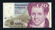 Series C Irish Ireland 20 Pound Banknote Dated 09.12.99 YVV 377836