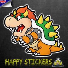 Super Mario Bowser Monster Luggage Car Skateboard Laptop Vinyl Decal Sticker