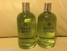 Molton Brown 2 x 300ml Wild Fairyfleur Bath & Shower Gel NEW *LOOK*