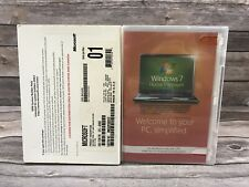 Microsoft Windows 7 Home Premium 64 Bit SP1 System Builder OEM DVD