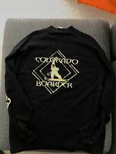 Vintage NOS Colorado Boarder Snowboard Shop snowboarding shirt long sleeve XL