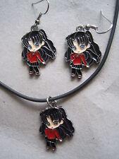 Fate / Stay Night Anime / Manga Earrings & Necklace Jewelry Set WINNER'S CHOICE!