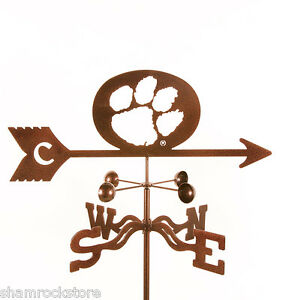 Clemson University Weathervane - Tigers - with Choice of Mount