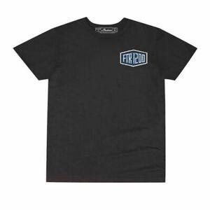 Genuine Indian Motorcycle Men's T-Shirt FTR 1200 Shield Logo Black XL X-Large