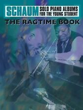 The Ragtime Book (Schaum Solo Piano Album for the Young Student), , New Books
