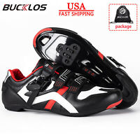 BUCKLOS Road Cycling Shoes Men Women Buckle Strap MTB fit SPD Look Delta Peloton