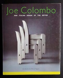 Joe COLOMBO Italian Design of 1960s MIT Press Furniture Lighting Complete Works